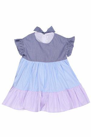 Striped dress with ruffles IL GUFO | 5032276 | VM491C10524862