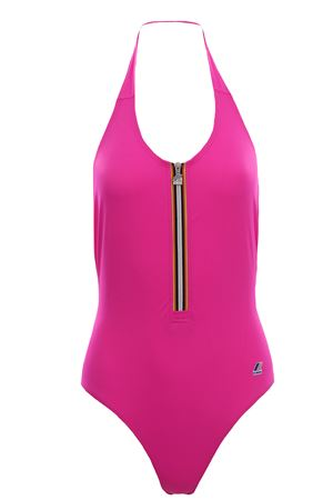 Costume intero sylvie beach con zip K-WAY | 5032277 | K004W80XLF