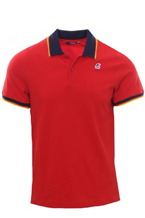 Polo vincent total contrast K-WAY | 2 | K111NXWUQ03