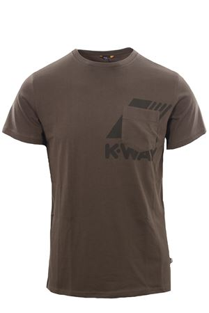 T-shirt ros K-WAY | 8 | K51121WUX7Q