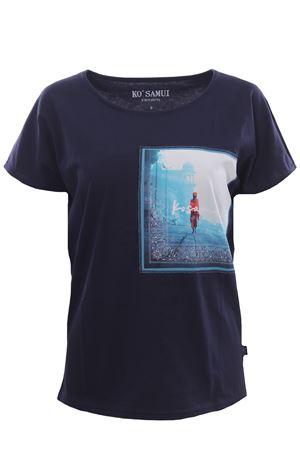 T-shirt in cotone clairvoyant KO SAMUI | 8 | TEE226BANDANANVY