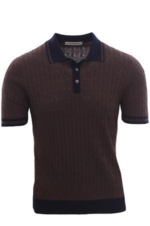 Cotton sweater polo LA FILERIA | 2 | 5711320640140