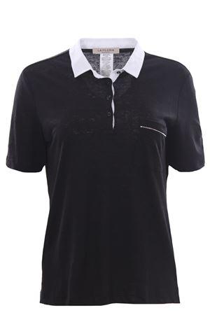 Linen polo with pocket LA FILERIA | 2 | 6021696816281