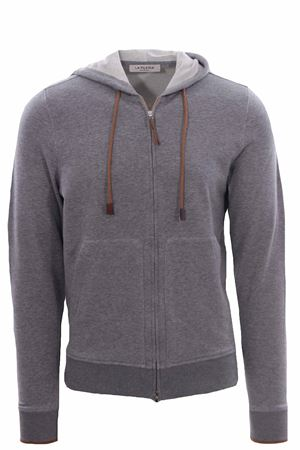 Full zip active con cappuccio LA FILERIA | -161048383 | 7818075701051