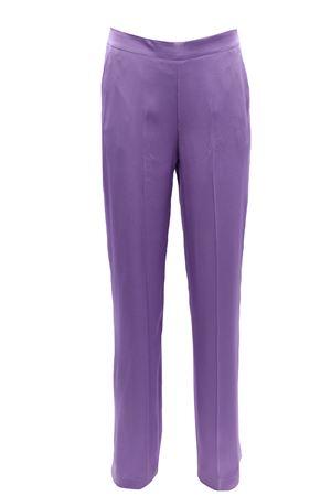 Pantaloni ganba larga in cadi