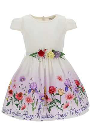 Dress with flowers MONNALISA | 5032276 | 1179077606A0001