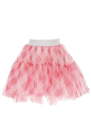 Asymmetrical tulle skirt with flounces MONNALISA | 5032307 | 19770370440096