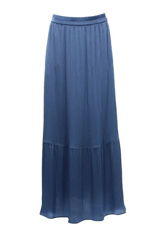 Long skirt with elastic