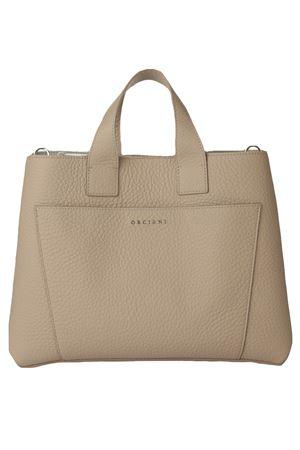 Nora Soft large leather handbag ORCIANI | 5032281 | B02075SOFTCONCHIGLIA
