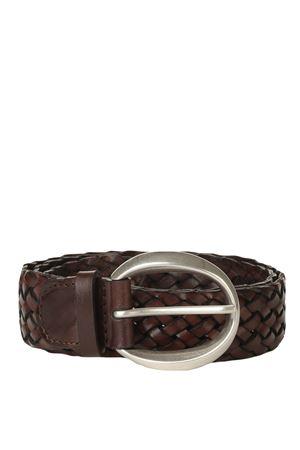 Leather belt ORCIANI | 5032288 | D10068TMORO