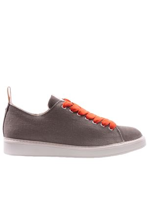 Low cut canvas and suede