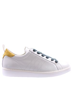 Low cut leather nubuck