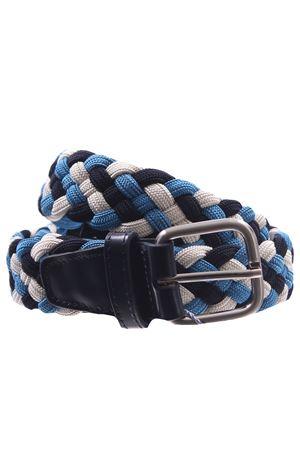 Cintura intreccio elastico tricolor  SADDLER