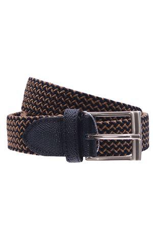 Cintura intreccio elastico bicolor SADDLER