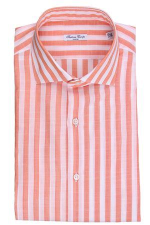Camicia riga larga in cotone effetto lino SARTORIA CAMPO | 5032279 | GH34102