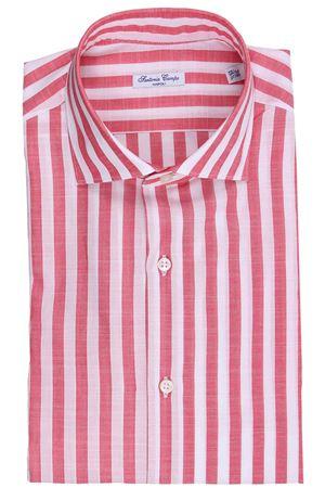 Camicia riga larga in cotone effetto lino SARTORIA CAMPO   5032279   GH34103