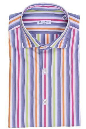 Camicia lavata a righe in cotone  SARTORIA CAMPO | 5032279 | GH34303