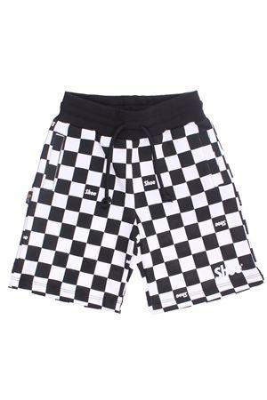 Checked shorts SHOE | 30 | SIMONJ0403BIANCO-NERO
