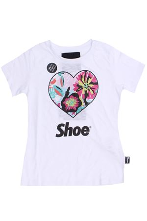 T-shirt cuore in cotone SHOE | 8 | TAMMYJ5052BIANCO