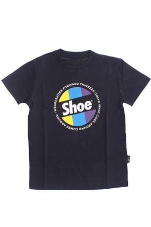 T-shirt in cotone SHOE | 8 | TIMMYJ2010BLU