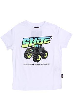 T-shirt macchina in cotone SHOE | 8 | TIMMYJ2111BIANCO