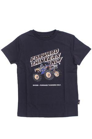 T-shirt macchina in cotone SHOE | 8 | TIMMYJ2112BLU