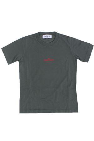 T-shirt in cotone flipper STONE ISLAND | 8 | 741621058V0059