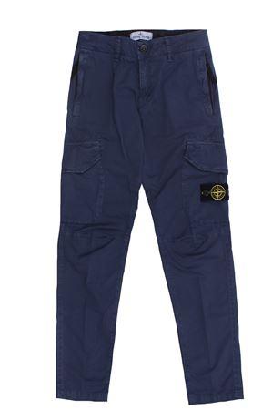 Pantalone cargo in cotone stretch STONE ISLAND | 5032272 | 741630810V0128