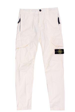 Pantalone cargo in cotone stretch STONE ISLAND | 5032272 | 741630810V0190