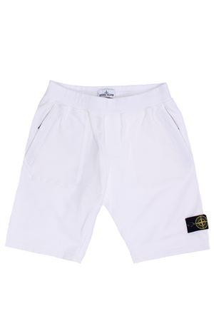 Shorts jogging in cotone stretch STONE ISLAND | 30 | 741661442V0001