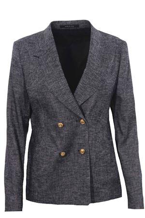 Linen jacket melange effect TAGLIATORE | 5032284 | JCORAL1EKH7003N1148