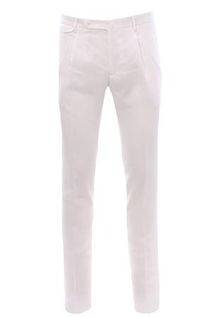 Natural stretch linen pants TAGLIATORE | 5032272 | TAG1134UEZ258EX802