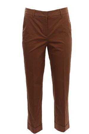 Pantaloni via della spiga in cotone con risvolto VIA MASINI 80 | 5032272 | P21M662MJ626