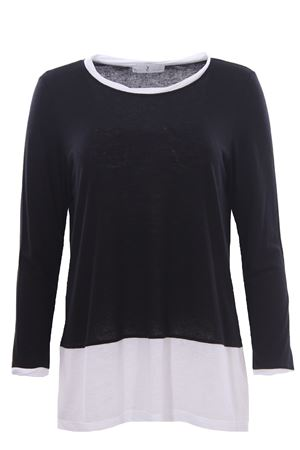 Viscose and line crew neck WHYCI | 8 | WH00020001