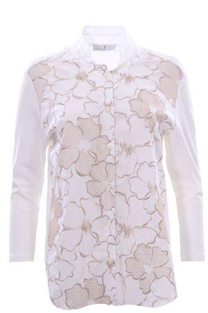 Camicia in cotone con ricami WHYCI | 5032279 | WH03410350