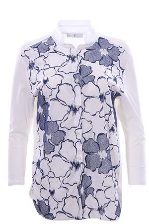 Camicia in cotone con ricami WHYCI | 5032279 | WH03410358