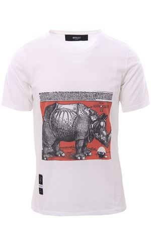 T-shirt with print WIPEOUT | 8 | WIPEOUTRIHNOCEROS REVERSE