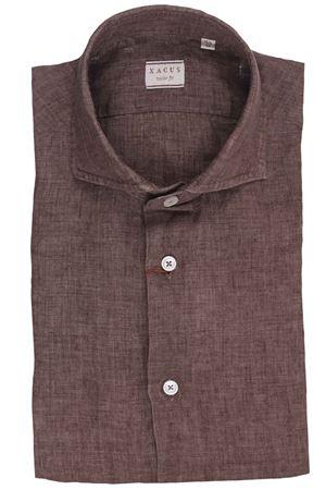 Camicia in lino tinto filo delavè albini XACUS | 5032279 | 721ML81126003