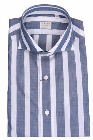 Striped cotton shirt XACUS | 5032279 | 721ML81224006