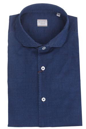 Cotton denim shirt XACUS | 5032279 | 722ML81129002