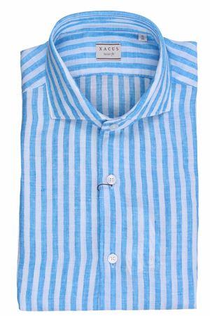 Striped linen shirt XACUS | 5032279 | 722ML81225012