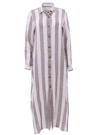 Long linen dress XACUS | 5032276 | 85214HEIDI003