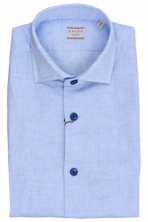 Linen and cotton shirt XACUS | 5032279 | BC748ML81758734