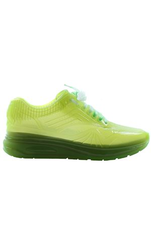 Transparent rubber sneakers