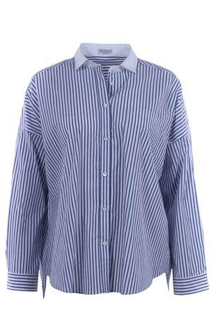 Striped cotton shirt BRUNELLO CUCINELLI | 5032279 | DMF728N7816C010