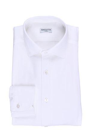 Camicia in jersey di cotone cellulare BAGUTTA | 5032279 | FBERLINOB07736001