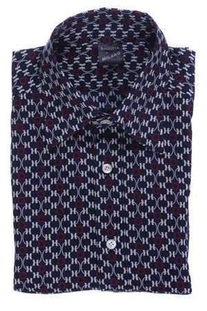Camicia archivio in cotone stampato BAGUTTA | 5032279 | RSTEVE08105630