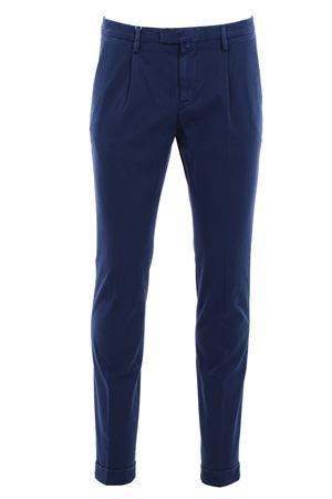 Pantalone in microarmatura di cotone stretch BRIGLIA | 5032272 | BG0738526581