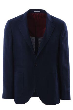 Giacca in armatura di lino lana e seta CUCINELLI | 5032284 | MH4227BNDC583