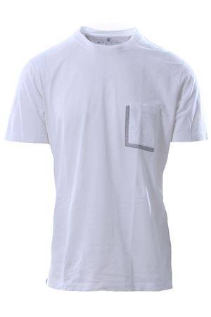 T-shirt manica corta in cotone CUCINELLI | 8 | MOT611397CL885
